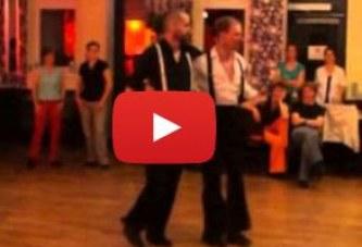 Salsa-Choreographie von Andreas und Ingmar