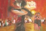 Frauen-Tangoball in Acryl …