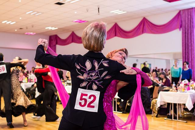 Tanzturniere 2015 für Frauen- und Männer-Paare