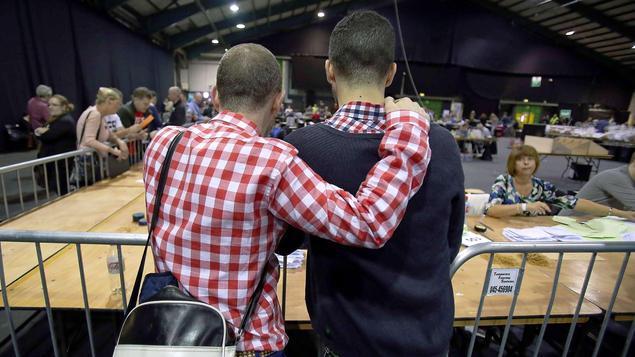 """Aktuelle Tagesspiegel Online-Umfrage zur """"Homo-Ehe"""""""