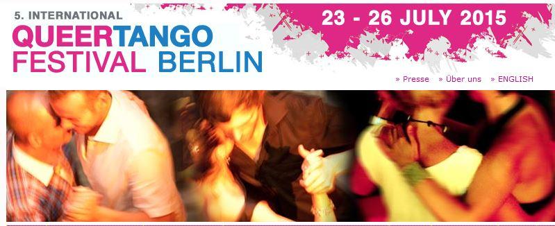 5. Internationales QueerTango-Festival in Berlin