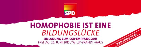 CSD-Empfang der SPD
