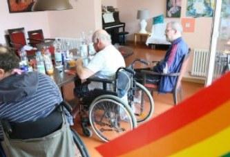 Besuch einer Pflege-WG in Berlin