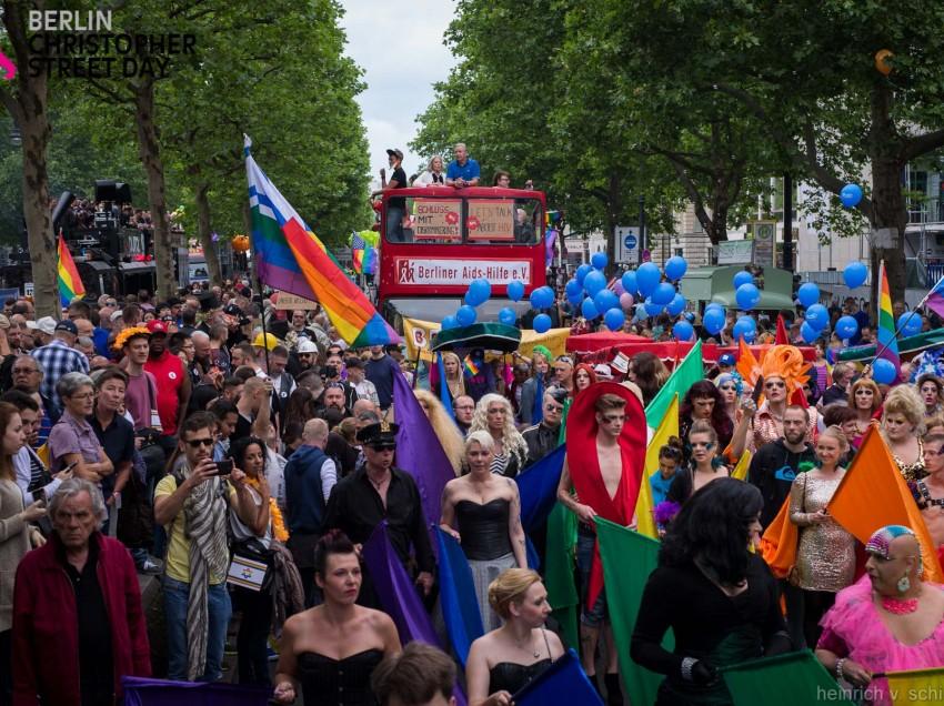 Berliner CSD und Stadtfest finden 2016 im Juli statt