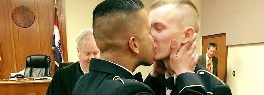 Homo-Ehe beim US-Militär