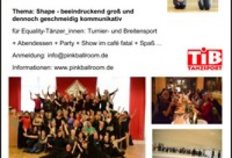 """""""Queer Dance Camp"""" vom 16. bis 18. Dezember 2016"""